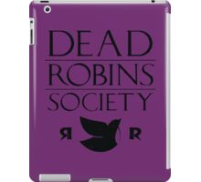 DEAD ROBINS SOCIETY (Stephanie ver.) iPad Case/Skin