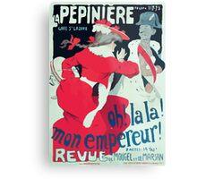 Jules Alexandre Grün Affiche la Pépinière Grün Metal Print