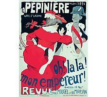 Jules Alexandre Grün Affiche la Pépinière Grün Photographic Print