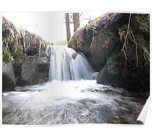 Waterfall. Poster