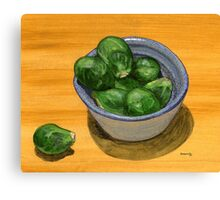 Russel's Brussel's Canvas Print