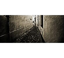 Prague, a city full of alleyways Photographic Print