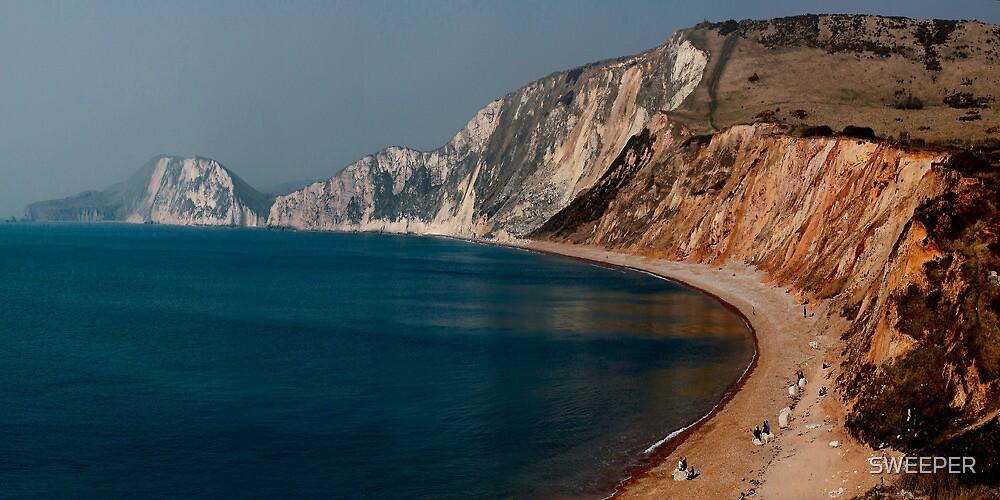 Warbarrow Bay Dorset by SWEEPER