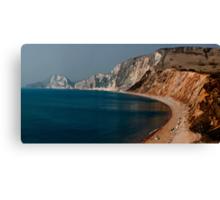 Warbarrow Bay Dorset Canvas Print