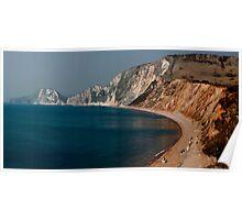 Warbarrow Bay Dorset Poster