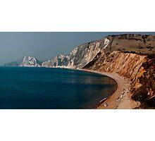 Warbarrow Bay Dorset Photographic Print