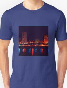 Night Skyline Unisex T-Shirt