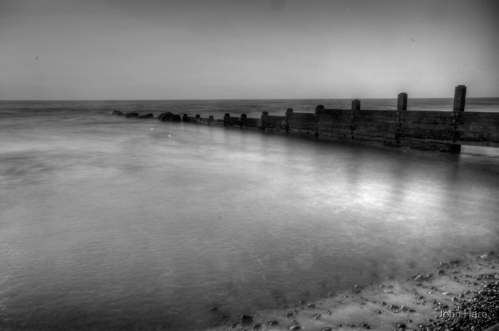 High Tide Groyne by John Hare