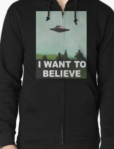 I want to believe (green) T-Shirt