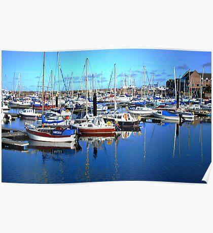 Bangor Marina Poster