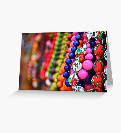 Czerwone korale .  A string of red beads . by Brown Sugar. Tribute to My Love Kraków  . Views(415) . Favs (5) Ole !!! Thank you , gracias !!! Greeting Card