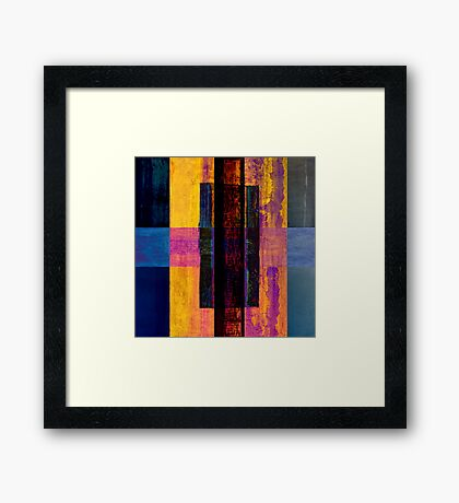 scrolls of knowledge Framed Print