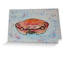 crab head Greeting Card