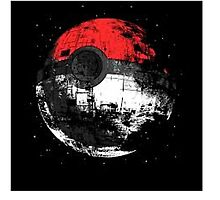 Pokeball Death Star by hybridgopher