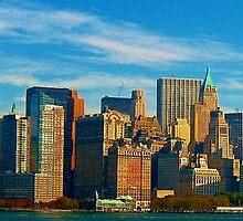 New York City Skyline by JesseRichardson
