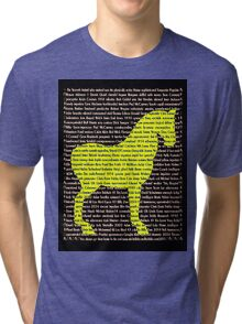 """The Year Of The Horse"" Clothing Tri-blend T-Shirt"