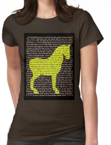 """The Year Of The Horse"" Clothing Womens Fitted T-Shirt"