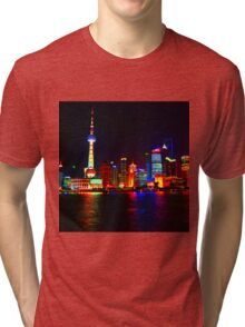 Shanghai Clique Tri-blend T-Shirt