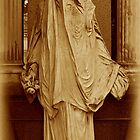 The Veil.(Sepia) by Lee d'Entremont