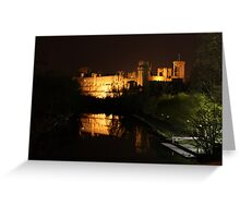 warwick castle buy night Greeting Card