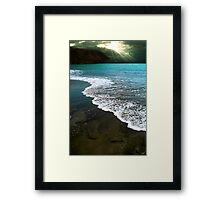 Fuerteventura beach Framed Print