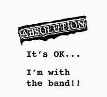 ABSOLUTION 2011 - I'M WITH THE BAND! - WHT Womens Fitted T-Shirt