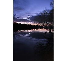 Night Lake Photographic Print