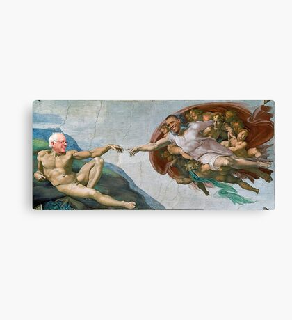 The Creation of Socialism Canvas Print