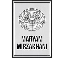 MARYAM MIRZAKHANI - Women In Science Wall Art Photographic Print