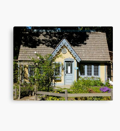Chicken Coop-Fancy Canvas Print
