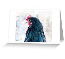 Chicken-4 Greeting Card