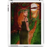 Come To The Beltane Fire - Witch Art iPad Case/Skin