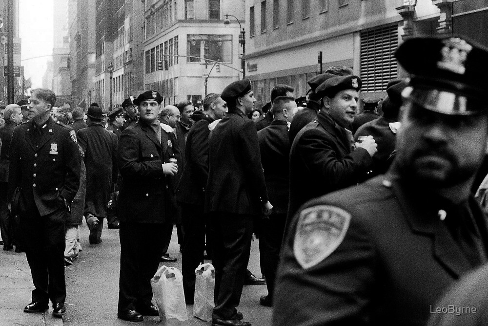 NYC Cops by LeoByrne