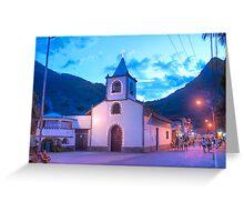 Igreja de São Sebastião, Vila do Abraão Greeting Card