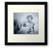 BREAKFAST WITH MARILYN Framed Print