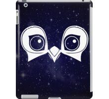 Dark Blue Owl iPad Case/Skin