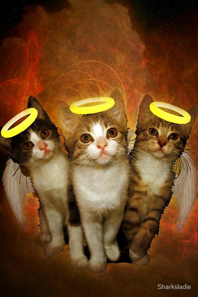 Three Little Kittens by Sharksladie