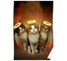 Three Little Kittens Poster