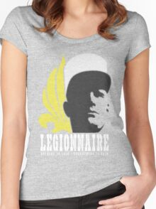 Legionnaire: Nothing To Lose - Everything To Gain Women's Fitted Scoop T-Shirt
