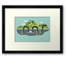 Nothing but the truth Framed Print