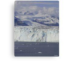 The Great Glaciers of Alaska Canvas Print