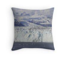 The Great Glaciers of Alaska Throw Pillow