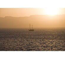 Red Sea Sunset Photographic Print
