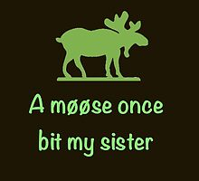 A moose once bit my sister by Goddard2Ant