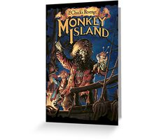 Monkey Island 2 Greeting Card