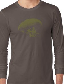 Sombrero de los Muertos - green Long Sleeve T-Shirt