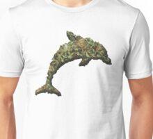Marijuana Mammal Weed Wale Dank Dolphin  Unisex T-Shirt