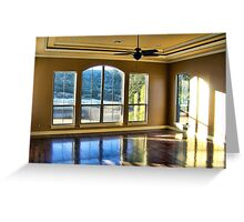 Interior Reflections Greeting Card