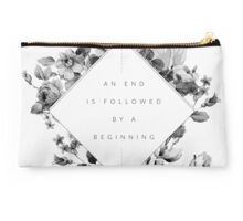 The End Is The Beginning Studio Pouch