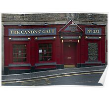 The Canons' Gait Poster